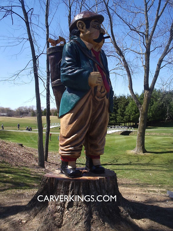 Golf, Caddy, Golf Course