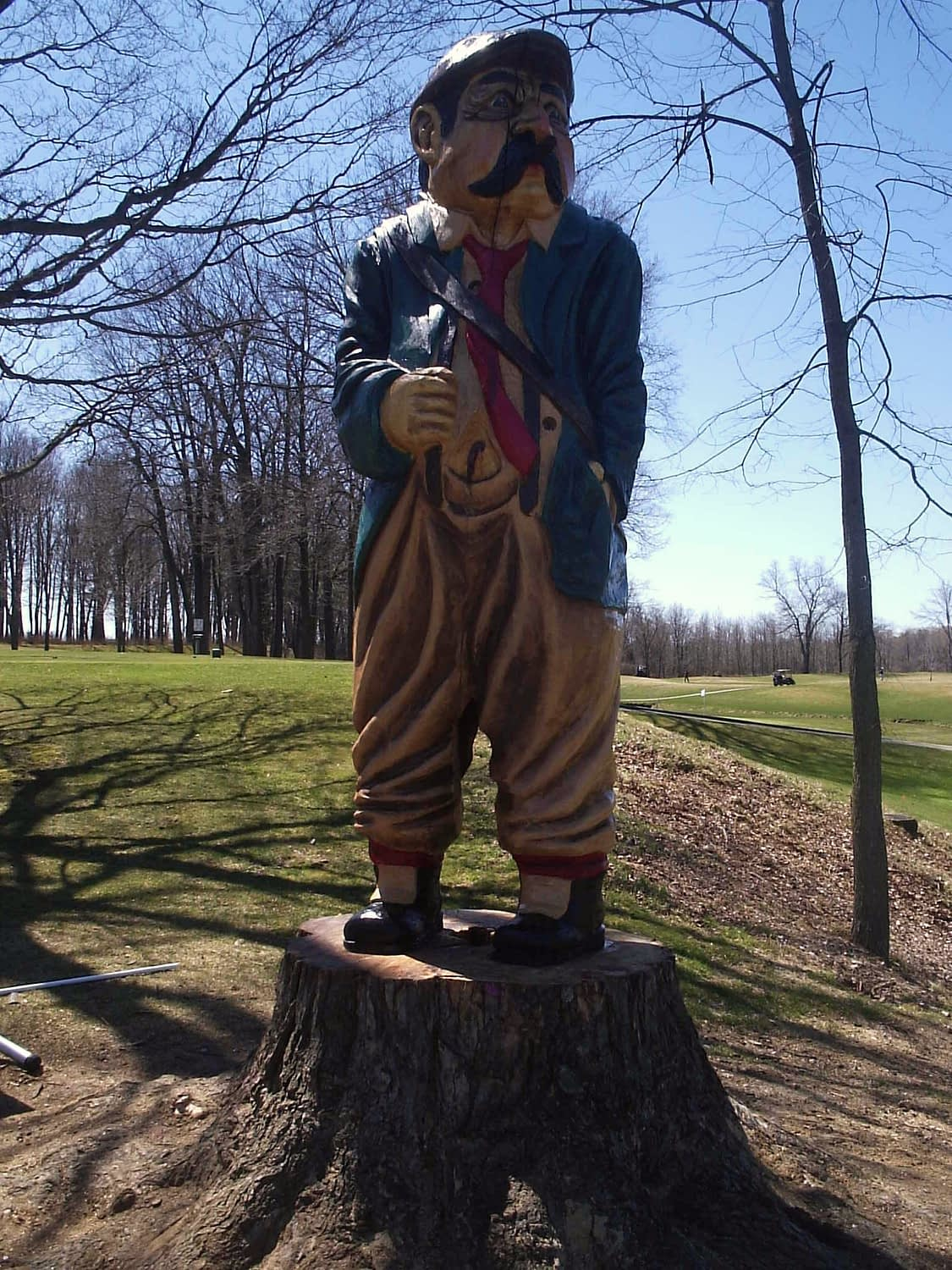 Carving, Golf, Golf Course