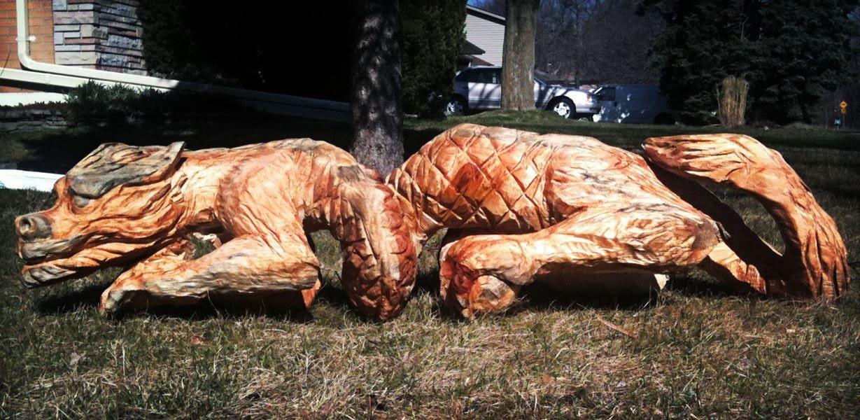 Carving, Dragon, Chinese Dragon