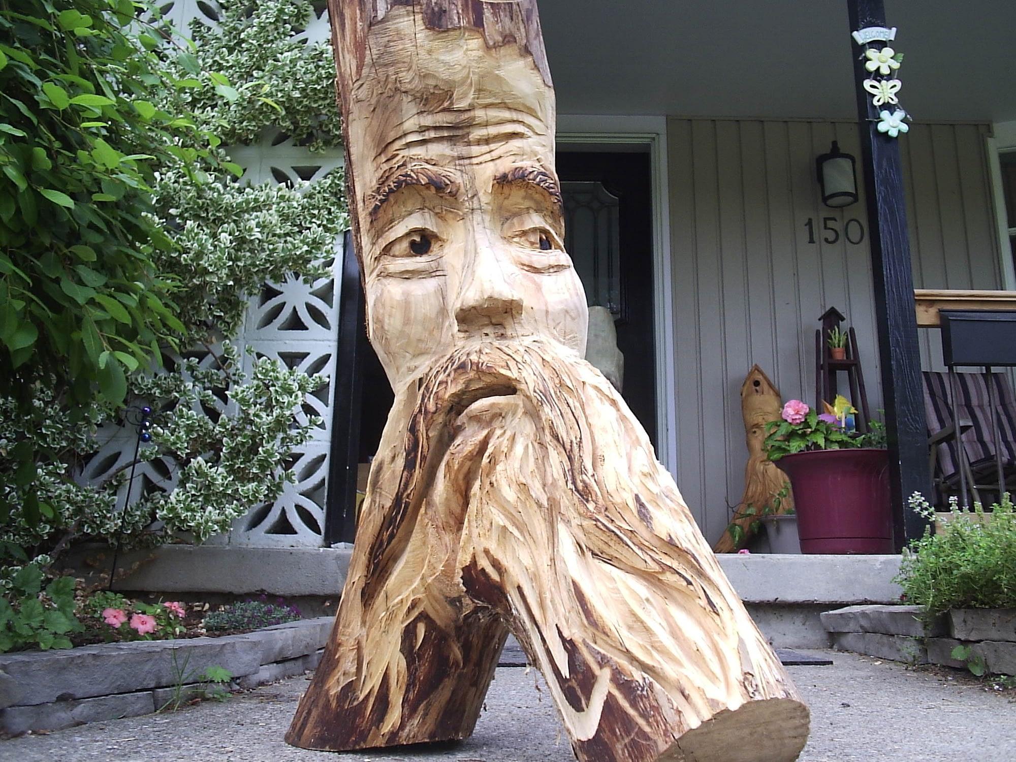 Carving, Face, Spirit