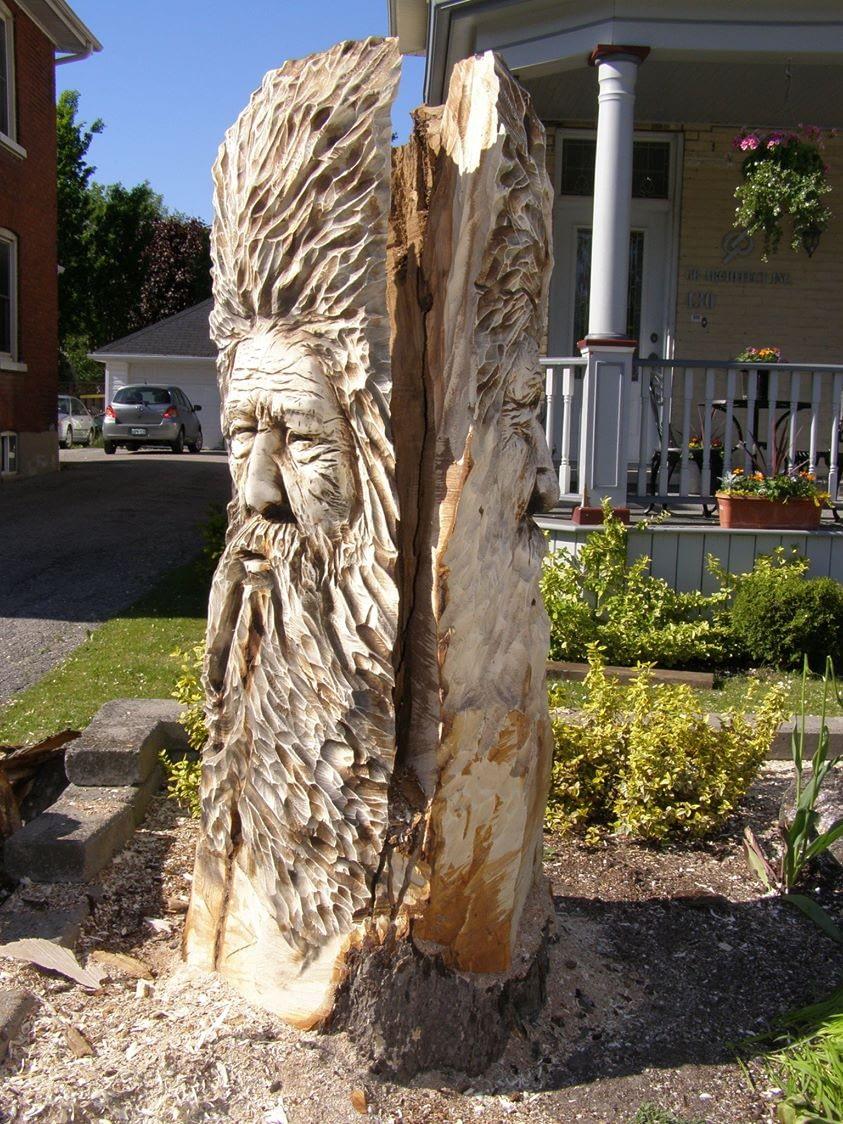 Carving, Faces, Spirit