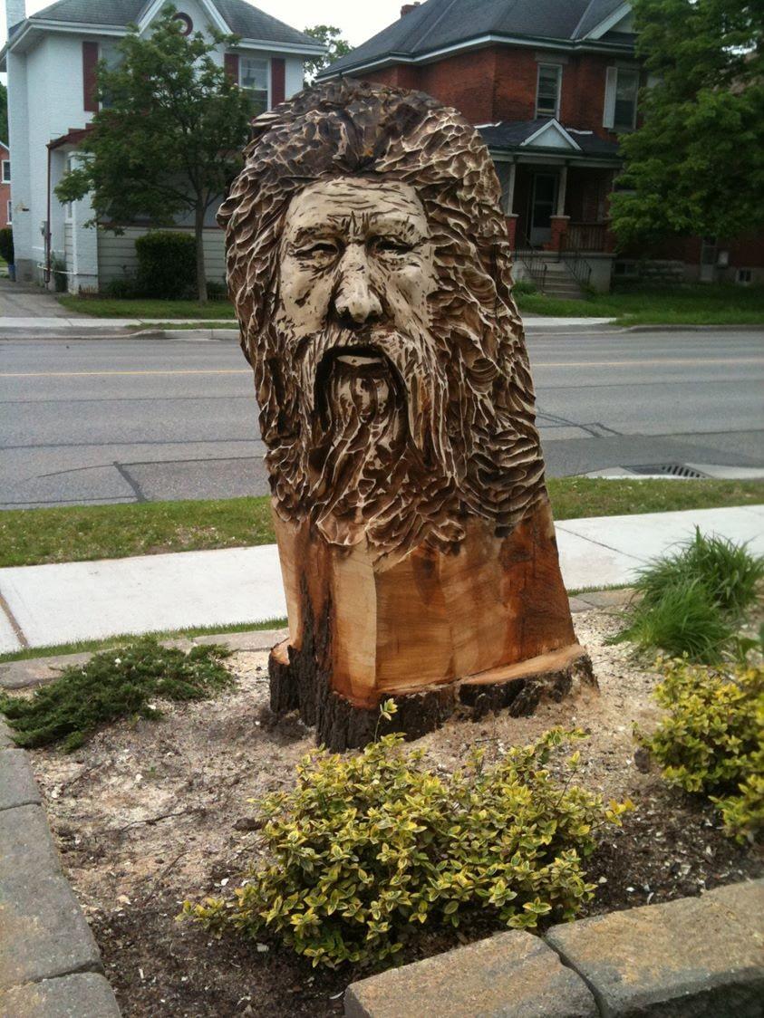 Carving, Face, Spirit Face