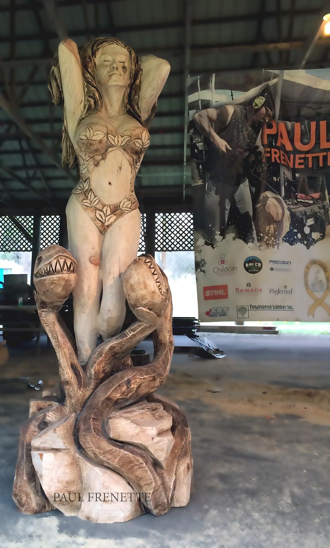 Carving, Posion Ivy, Venus Flytrap